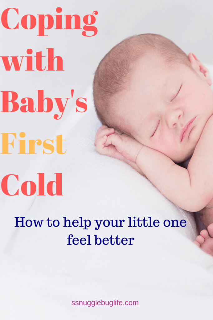 Coping with Baby's First Col - How to help your little one cope