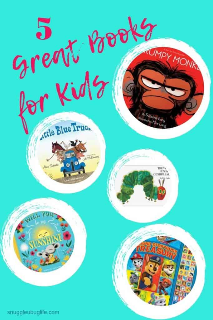 5 Great Books for Kids Paw-Patrol-Book books for baby shower