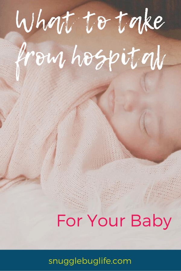 What to take from hospital for baby