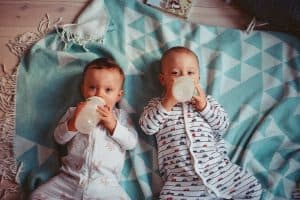 Pumping, Breastfeeding, and Formula Feeding